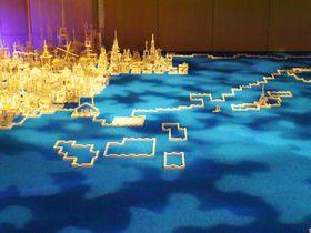 まるで初期ドラクエの世界!レゴブロックで作る世界遺産展・大阪