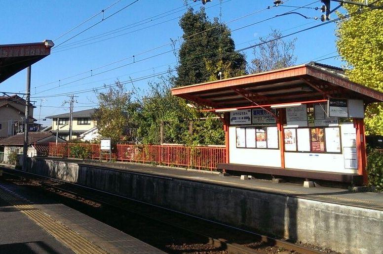 紅葉の京都・蓮華寺へは叡山電車で