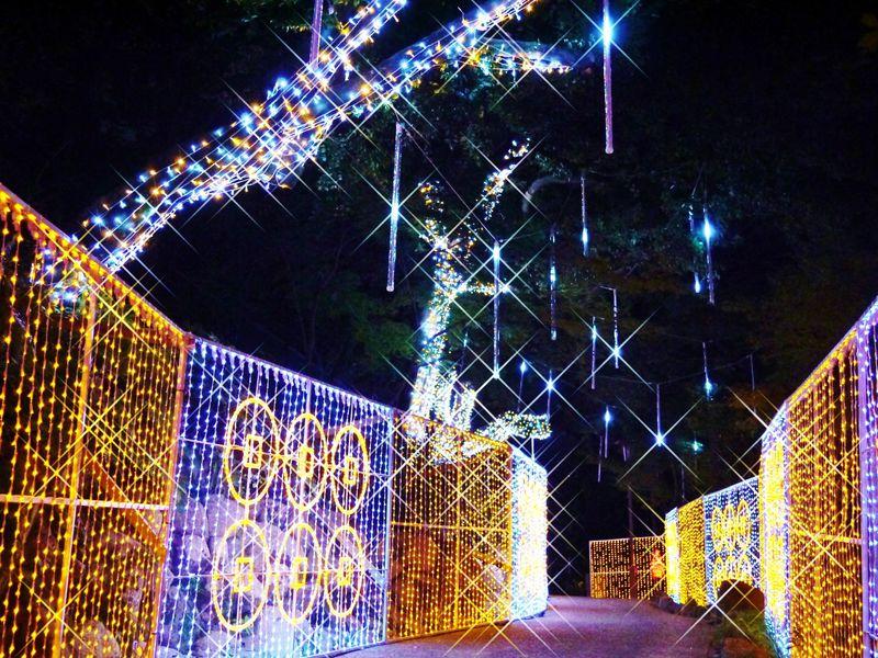 あべの・天王寺イルミナージュ2014 戦国時代をイルミネーションで楽しむ!