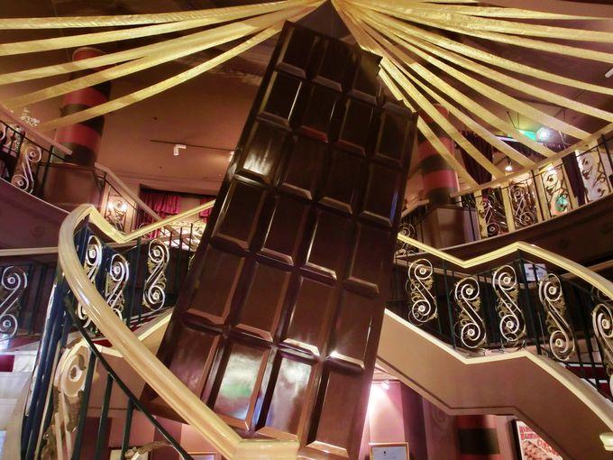 カカオで財を成したショコラ伯爵の館