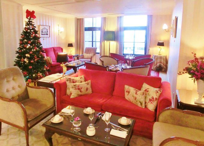 「特別な、もう一つのホテル」ローラアシュレイフロア