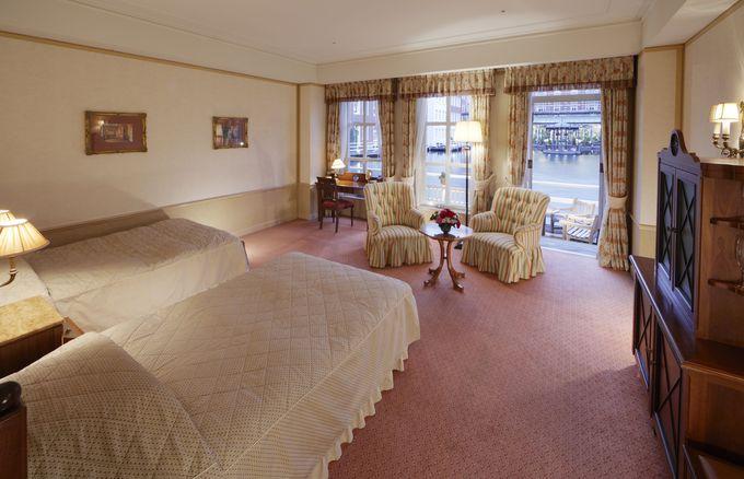 ホテルヨーロッパのクラシカルな部屋