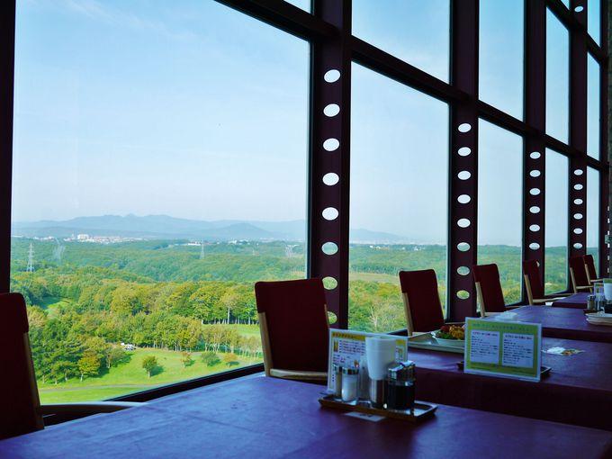 絶景の朝食会場