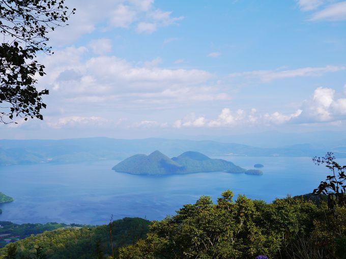 ザ・ウィンザーホテル洞爺リゾート&スパからの洞爺湖の眺め