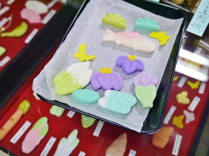 季節を味わう「御菓子司・河藤」