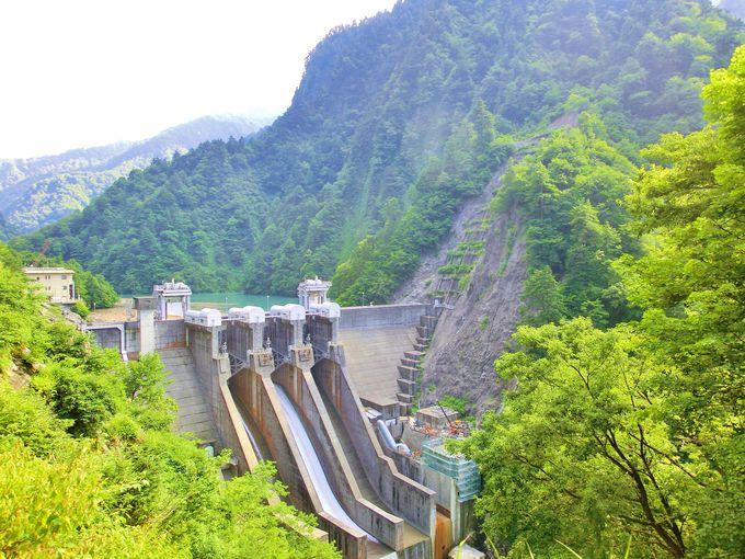 排砂機能のあるダム・出し平ダム