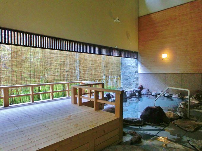 ホテルベアモンテの浴場が利用可能