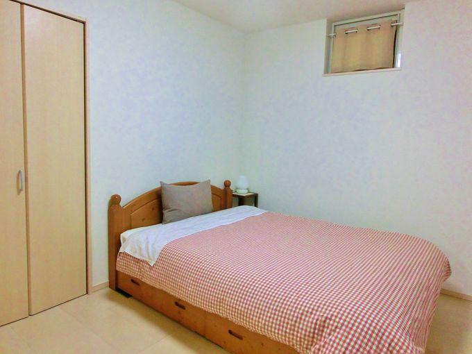 2つのベッドルーム