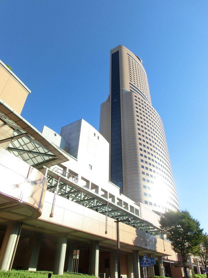 浜松市街地に泊まるならココ!家康公カレーにハーモニカ風ホテル