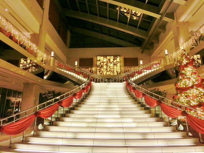 恋人の聖地に認定された大階段