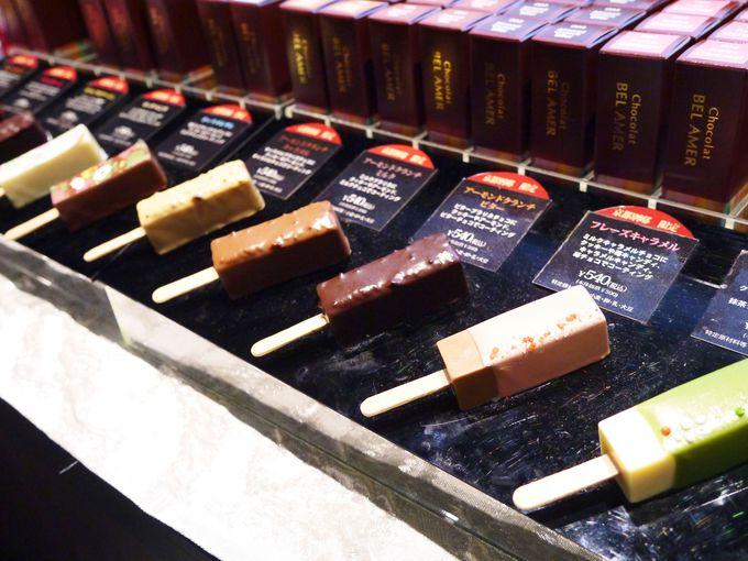 楽しいチョコレート商品も