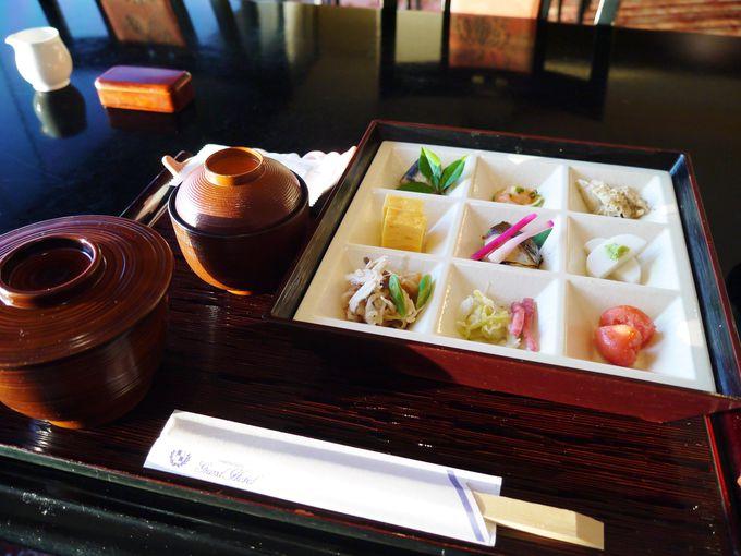 朝食は和食か洋食