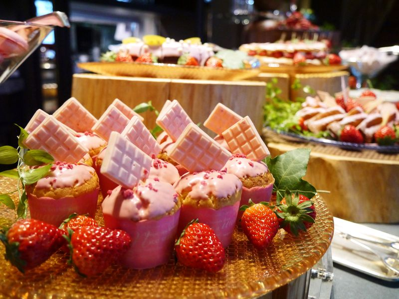 優雅なひと時・セントレジスホテル大阪のストロベリーブッフェ