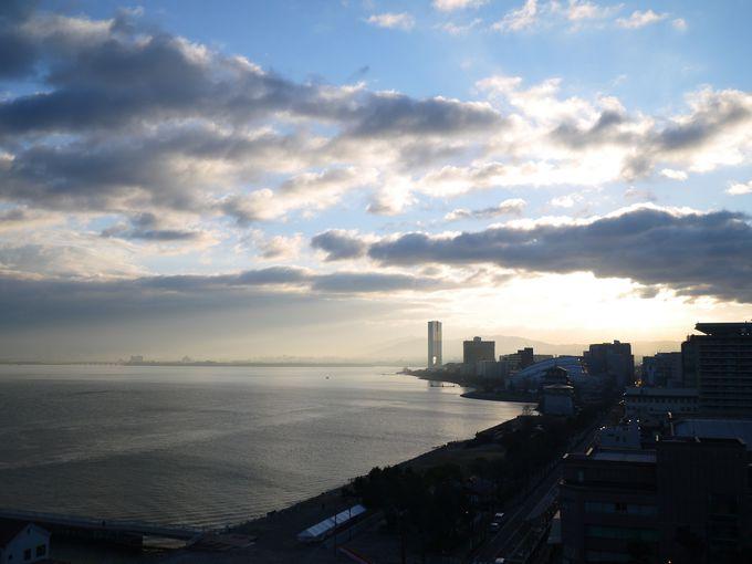 琵琶湖のランドマーク