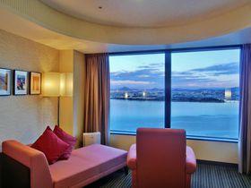 34階から琵琶湖を一望!びわ湖大津プリンスホテルのスカイフロアEIZAN