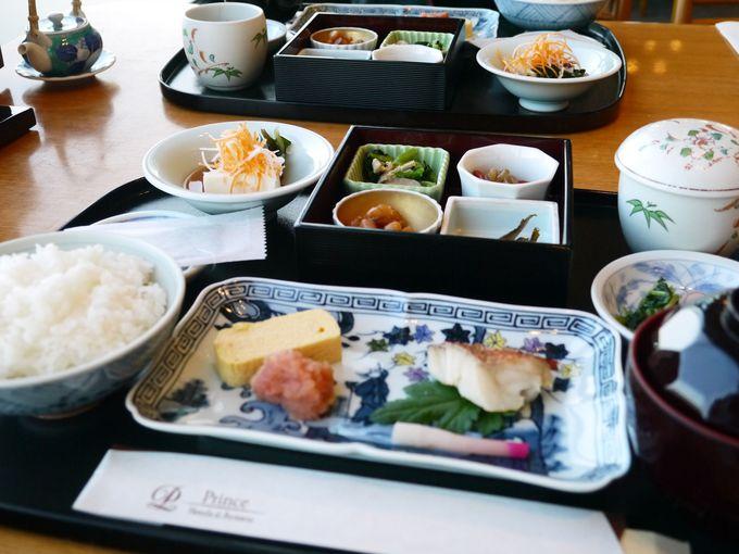 琵琶湖の恵みの和朝食