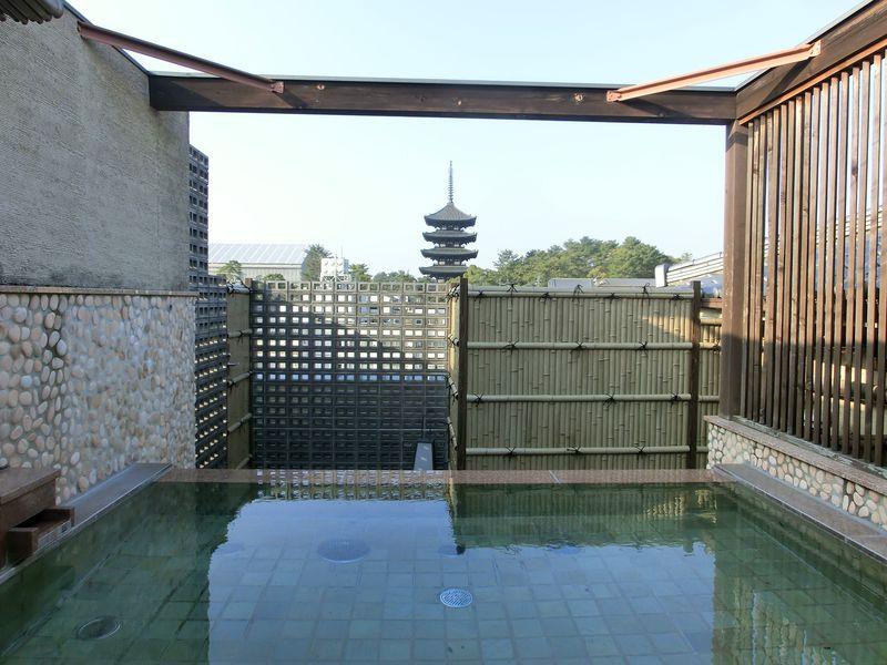 部屋からも露天風呂からも!興福寺五重塔が見える奈良「飛鳥荘」