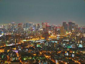 地上200mの眺望!ホテル大阪ベイタワーから眺める「宝石箱」