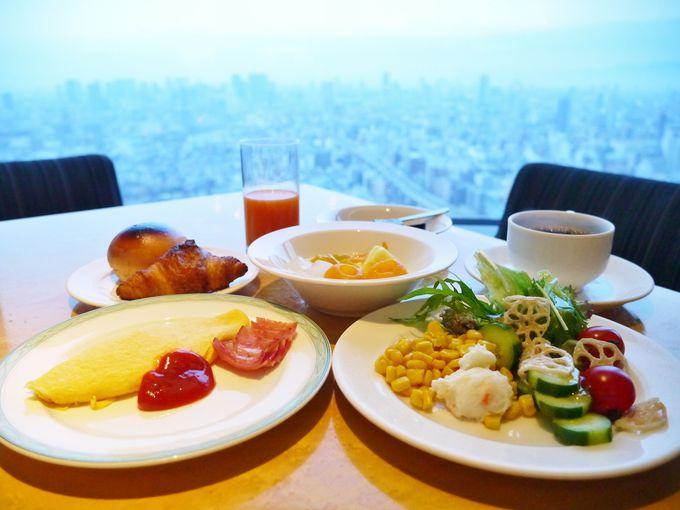 地上200mの朝食