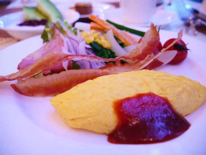 兵庫の野菜がたっぷりの朝食