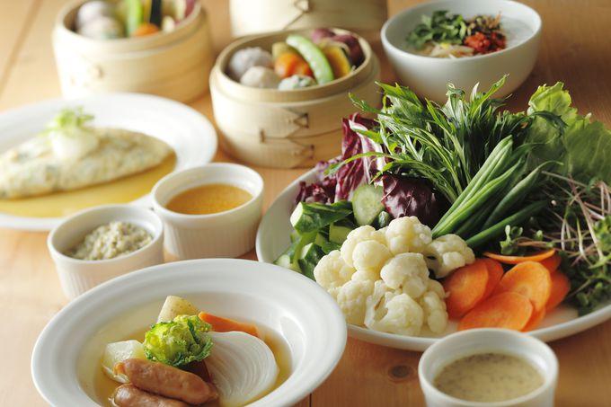 京都らしい朝食