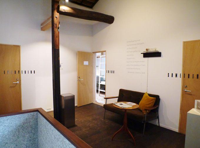 2階の宿泊エリア