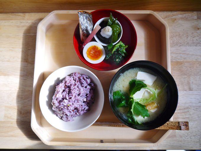 京都を感じる500円朝食
