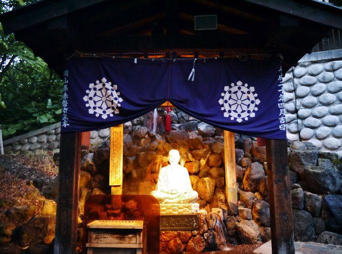 定山渓温泉初のライトアップ