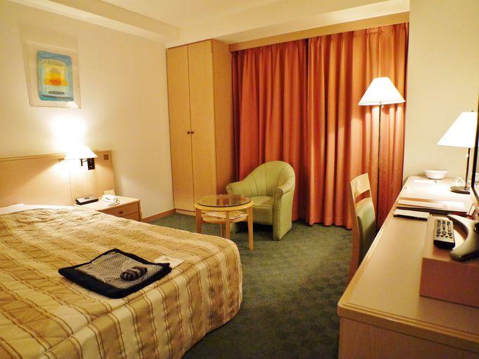 ジャスマックプラザホテルの「本館」と「アネックス館」