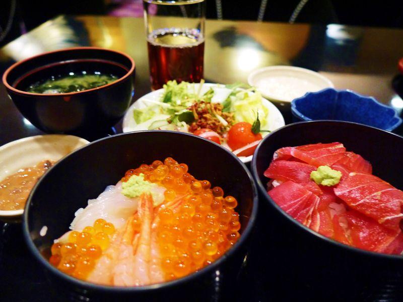 エビ・イカ・イクラ盛り盛り朝食!札幌ジャスマックプラザホテル