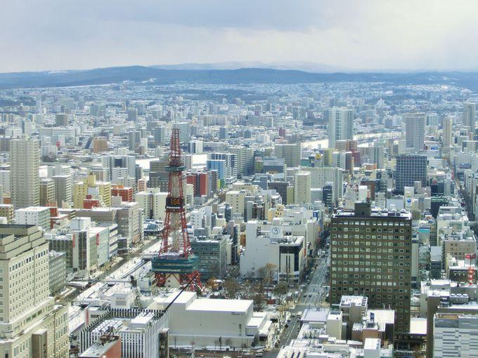札幌へのアクセスと巡り方