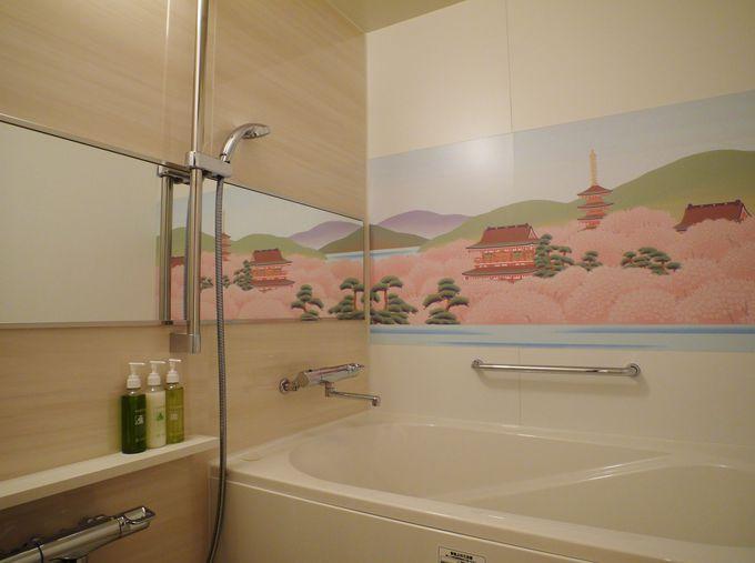バスルームもトイレも「道成寺」