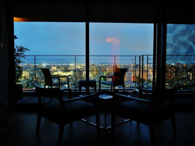 「アゴーラ福岡山の上ホテル&スパ」からの素晴らしい夜景