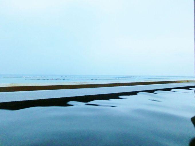 「琉球温泉 瀬長島ホテル」では夕日を見ながら温泉も!