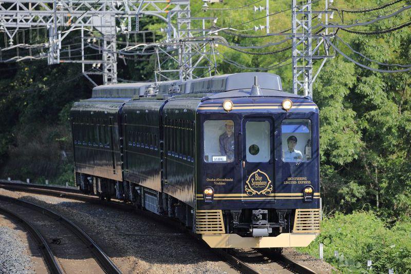 近鉄観光特急「青の交響曲(シンフォニー)」が奏でる奈良・吉野極上旅