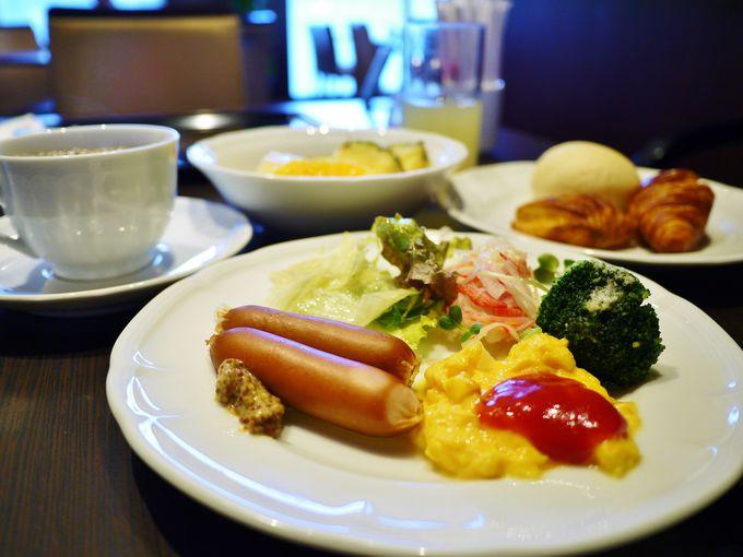 選べる朝食会場
