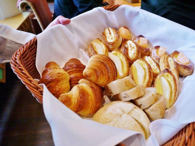 さすが十勝の朝食!パンが絶品!
