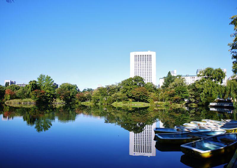 札幌随一のパークビュー「プレミアホテル 中島公園 札幌」で癒しの21時間