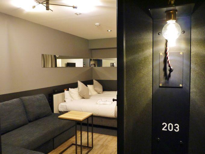 「ホテルコルディア大阪」の部屋までの楽しみ