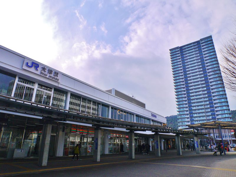 大津駅は京都駅からたったの9分