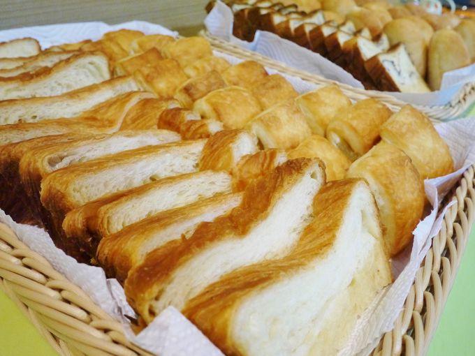 朝食は「京都祇園ボロニヤ」のデニッシュ食パン