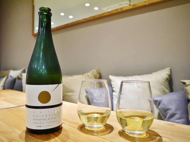 """大阪ワイン""""たこシャン""""で乾杯!「ホテル・アンドルームス大阪本町」"""