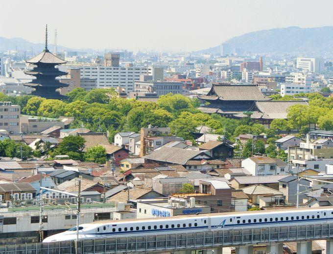 東寺や八坂神社、伏見桃山城まで楽しめる!