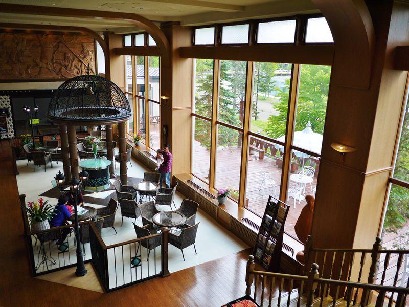 鶴雅グループ3ホテルの温泉が入り放題!「阿寒の森鶴雅リゾート花ゆう香」