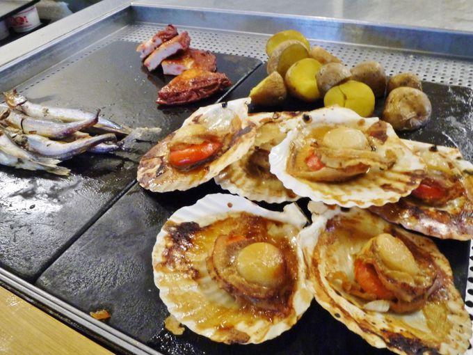 海鮮丼に炙り焼きまで!?充実の朝食ビュッフェ