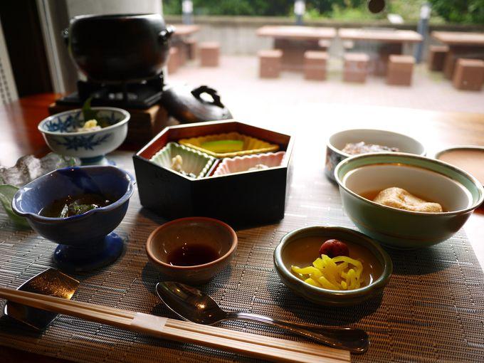 「釜炊きご飯」が嬉しい朝食