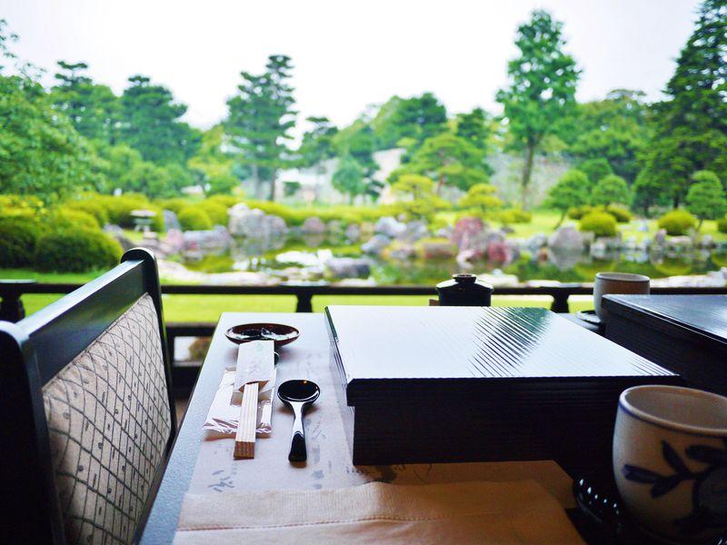 2019年も二条城で限定40食の特別朝食!清流園香雲亭で京のゆば粥御膳