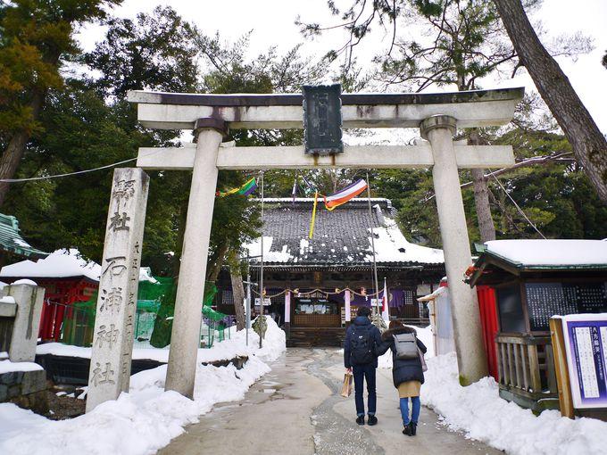 金沢最古の宮「石浦神社」