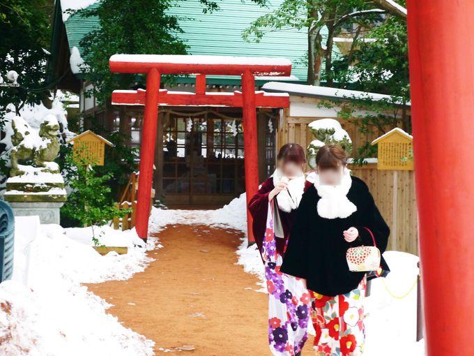 石浦神社の境内には見どころが沢山