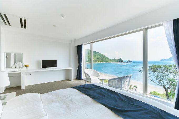 加計呂麻島を望むオーシャンビューの部屋